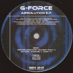 G-Force - Absolution E.P. (12'')
