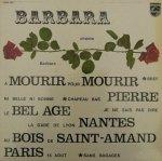 Barbara - Barbara Chante Barbara (LP)