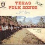 Alan Lomax - Texas Folk Songs (LP)
