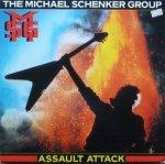 The Michael Schenker Group - Assault Attack (LP)