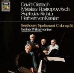 Beethoven - Berliner Philharmoniker, David Oistrach, Mstislaw Rostropowitsch, Svjatoslav Richter, Herbert von Karajan - Tripelkonzert C-Dur Op.56 (LP)