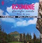 Gheorghe Zamfir - Rencontre Avec La Roumanie - Flûte De Pan (LP)