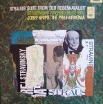 Strauss, Stravinsky, Josef Krips, The Philharmonia - Der Rosenkavalier - Suite / The Firebird - Suite (LP)