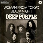 Deep Purple - Woman From Tokyo / Black Night (Live Version) (7'')