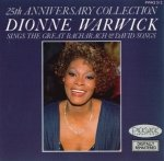Dionne Warwick - 25th Anniversary Collection: Dionne Warwick Sings The Great Bacharach & David Songs (CD)