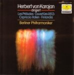 Herbert von Karajan Dirigiert Berliner Philharmoniker - Les Préludes, Ouvertüre 1812, Capriccio Italien, Finlandia (CD)