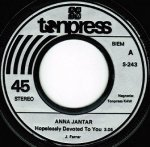 Anna Jantar / Anna Jantar I Stanisław Sojka - Hopelessly Devoted To You / You're The One That I Want (7'')