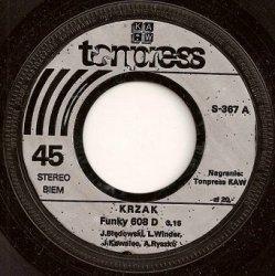 Krzak - Funky 608 D / Kołysanka Dla Maciusia (7'')