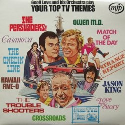 Geoff Love And His Orchestra - Your Top TV Themes (LP)