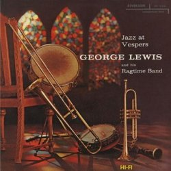 George Lewis And His Ragtime Band - Jazz At Vespers (LP)