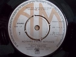 Billy Preston - Nothing From Nothing / My Soul Is A Witness (7'')