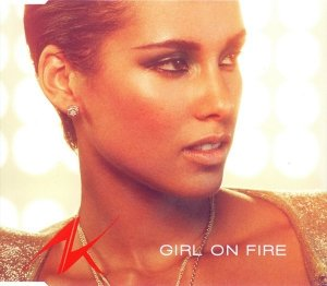 Alicia Keys - Girl On Fire (Maxi-CD)