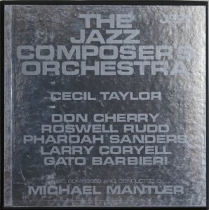 The Jazz Composer's Orchestra - The Jazz Composer's Orchestra (2LP)