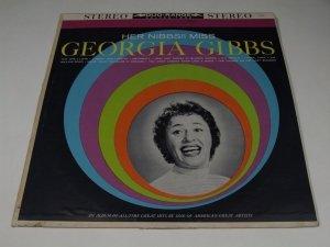 Georgia Gibbs - Her Nibbs!! Miss (LP)