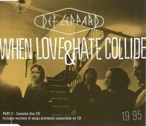Def Leppard - When Love & Hate Collide (Maxi-CD)