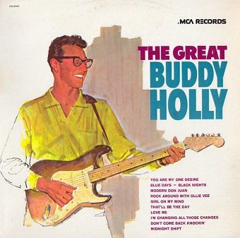 Buddy Holly - The Great Buddy Holly (LP)