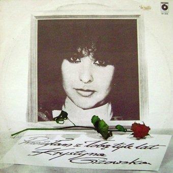 Krystyna Giżowska - Przeżyłam Z Tobą Tyle Lat (LP)