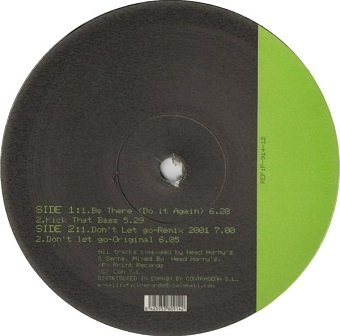 Head Horny's & DJ Miguel Serna - Be There (Do It Again) (12'')