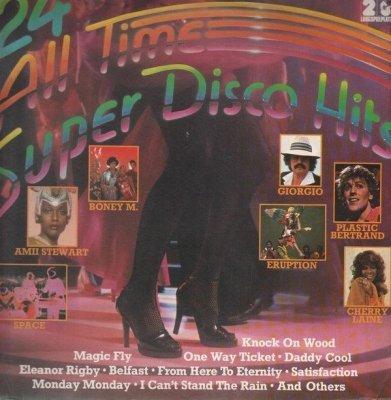 24 All Time Super Disco Hits (2LP)