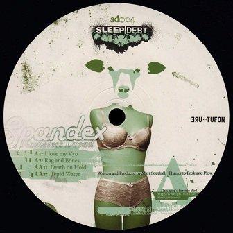 Spandex - Nameless Dread (12'')