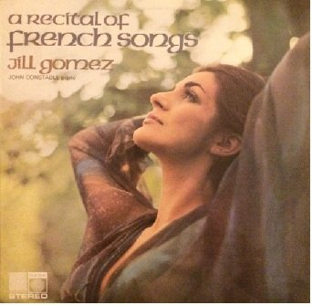 Jill Gomez - A Recital of French Songs (LP)