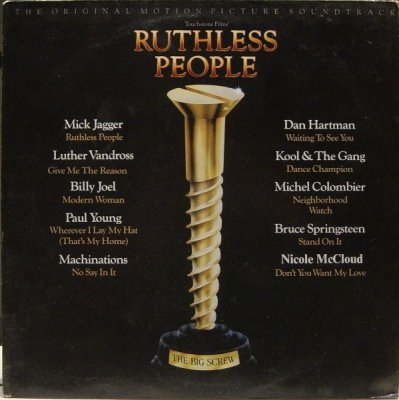 Ruthless People : The Original Motion Picture Soundtrack (LP)