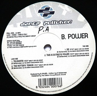 B. Power - Telekoma (12'')