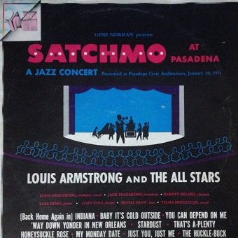 Louis Armstrong And The All Stars - Satchmo At Pasadena (LP)