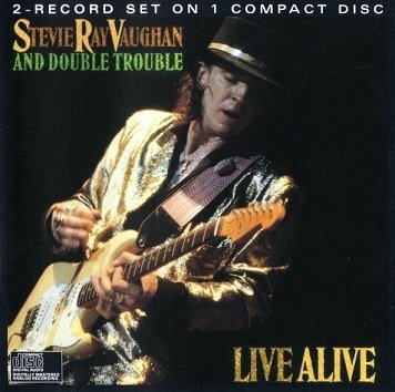 Stevie Ray Vaughan And Double Trouble - Live Alive (CD)