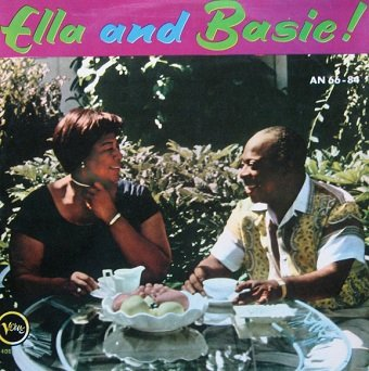 Ella Fitzgerald With Count Basie And His Orchestra - Ella And Basie! (LP)