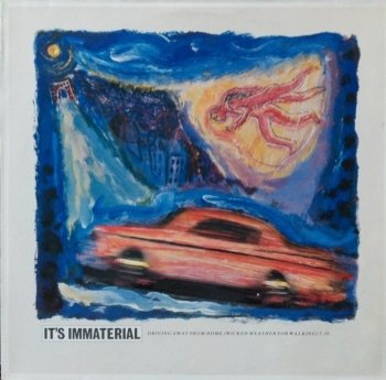 It's Immaterial - Driving Away From Home (Wicked Weather For Walking) (12'')