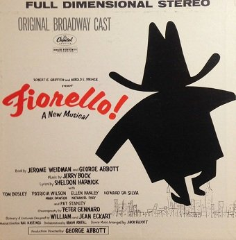Tom Bosley - Fiorello! (LP)
