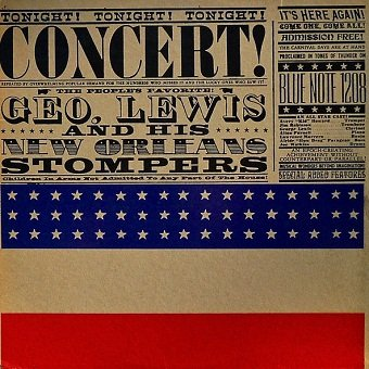 George Lewis And His New Orleans Stompers - Concert! (LP)