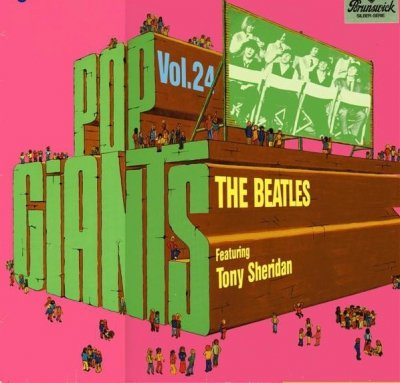 The Beatles Featuring Tony Sheridan - Pop Giants, Vol. 24 (LP)