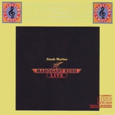 Frank Marino & Mahogany Rush - Live (CD)