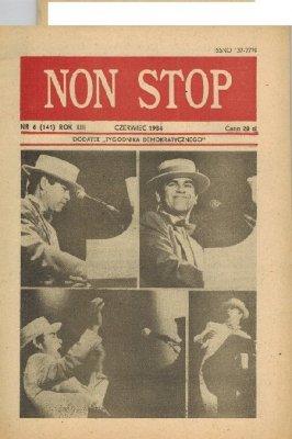 Non Stop 6 (141) Czerwiec 1984 Elton John