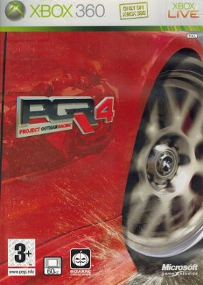 Project Gotham Racing 4 (XBOX360)