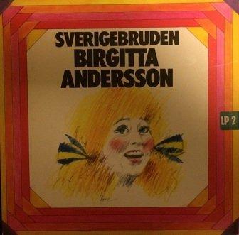 Birgitta Andersson - Sverigebruden (LP)