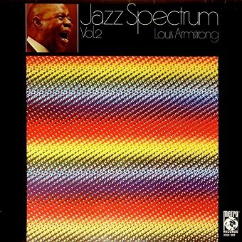 Louis Armstrong - Jazz Spectrum Vol. 2 (LP)