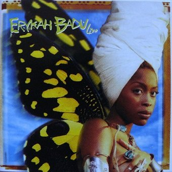 Erykah Badu - Live (CD)