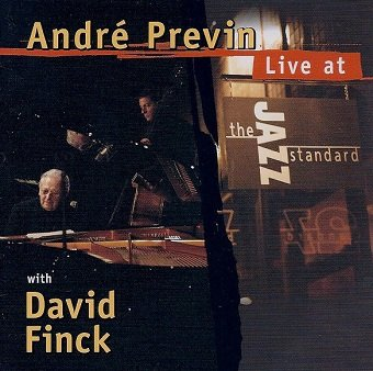 André Previn With David Finck - Live At The Jazz Standard (CD)