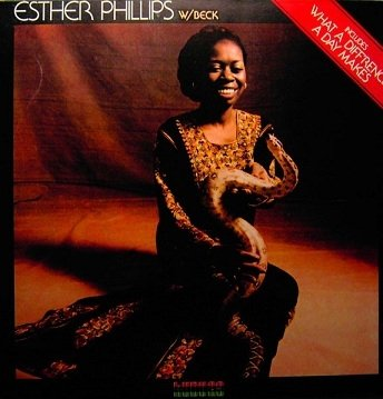 Esther Phillips With Joe Beck - What A Diff'rence A Day Makes (LP)