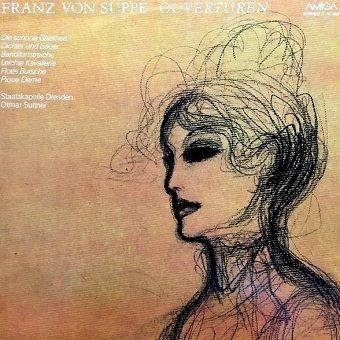 Franz von Suppé, Otmar Suitner, Staatskapelle Dresden - Ouvertüren (LP)