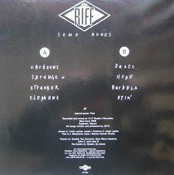 The Riff - Some Bones (LP)