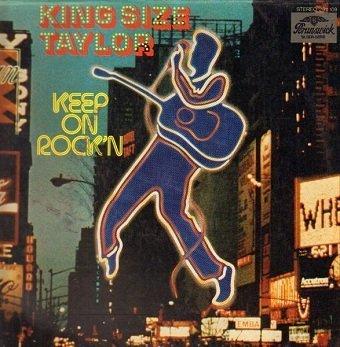 Kingsize Taylor - Keep On Rock'N (LP)