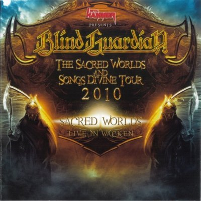 Blind Guardian - The Sacred Worlds And Songs Divine Tour 2010 (CD)