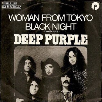 Deep Purple - Woman From Tokyo / Black Night (Live Version) (7'')