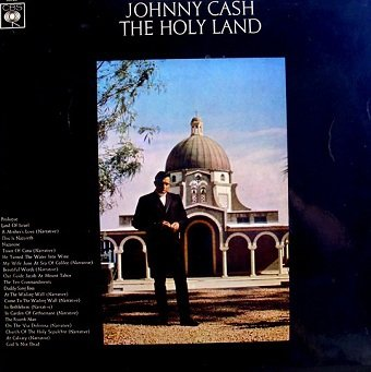 Johnny Cash - The Holy Land (LP)
