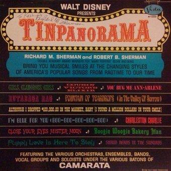 Richard M. Sherman, Robert B. Sherman - Tinpanorama (LP)