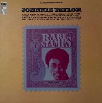 Johnnie Taylor - Rare Stamps (LP)